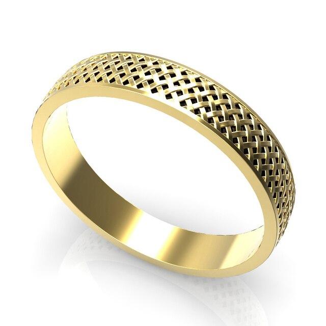 4mm Gold Ring