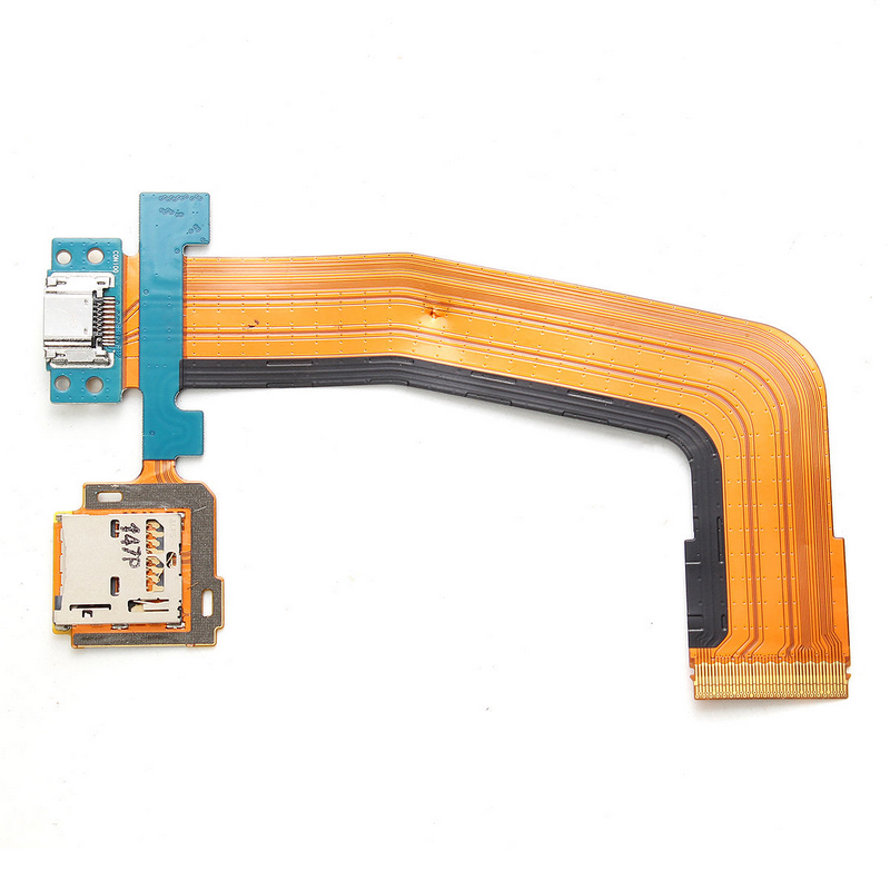 New Micro SD USB Charging Port Flex Cable For Samsung Galaxy Tab S 10.5'' SM-T800 SM-T805 SM-T807 10.5