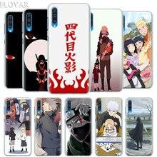 Anime Naruto Minimalist Case Cover for Samsung Galaxy A30 A40 A50 A70 A6 A8 Plus A7 A9 2018 M30 Phone Coque