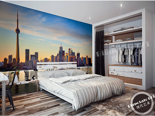 aesthetic bedroom living tv 3d background sofa building latest wall wallpapers horizon murals parede papel