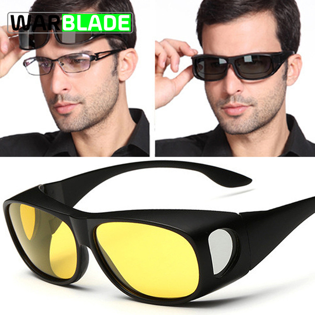 6f6b35bf9a High-end Set of Glasses HD Vision Sunglasses Men Myopia Mirror Night  Driving Sunglass Over Wrap Arounds Eyewear