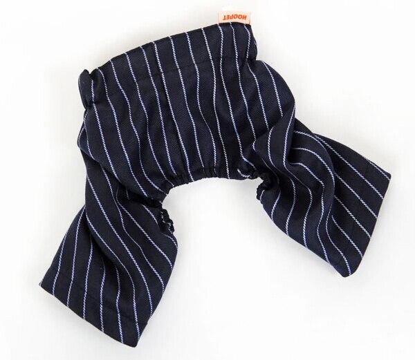 2015 new dogs cats fashion strip pants doggy spring summer pants costume puppy clothes pet dog suit pets supplies 1pcs S M L XL