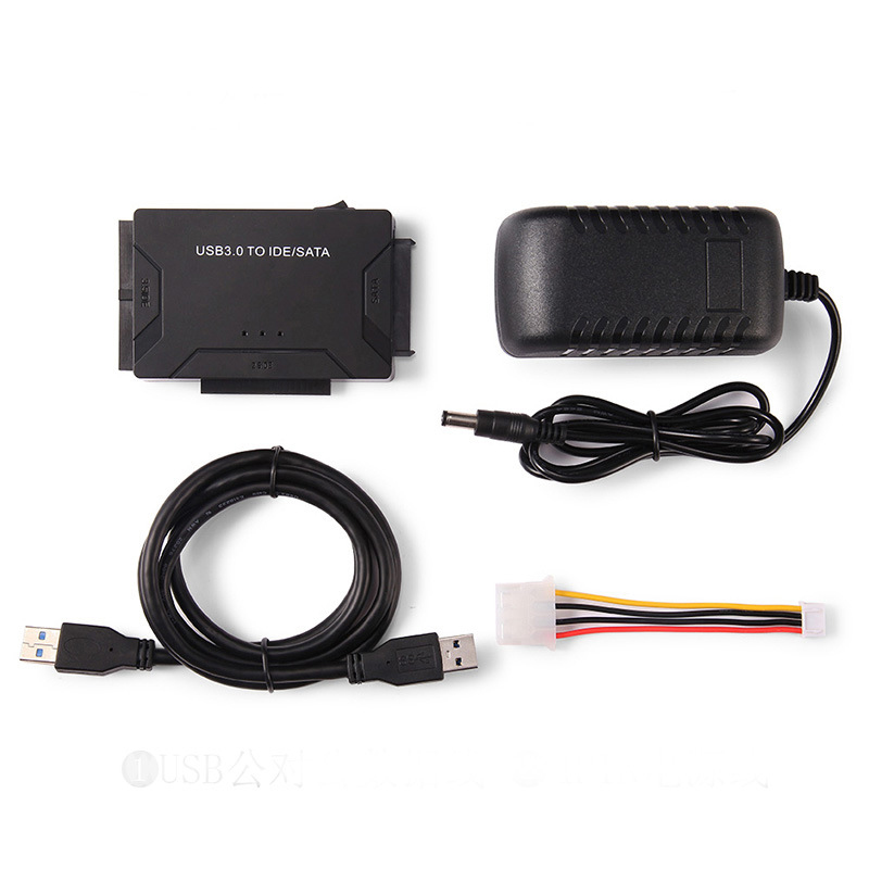 "Image 5 - USB 3.0 To SATA IDE Data Converter For 2.5"" 3.5"" HDD Hard Disk Driver With Power Cable-in Computer Cables & Connectors from Computer & Office"