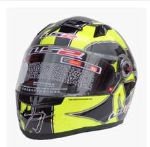 Free shipping new authentic helmet LS2 FF358 Black Warrior yellow motorcycle helmet motorcycle helmet full helmet sports car