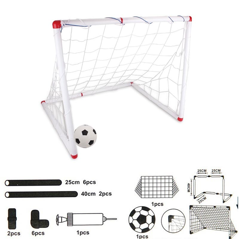 Outdoor Soccer Game Sport Toy Family Game Boy Children Plastic Football Goal Sets   C55K Sale