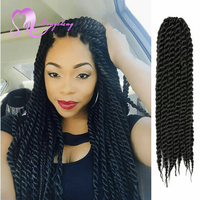 Best Sell20inch100gpiece Crochet Twist Braid Style Hair Havana