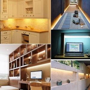 Image 2 - 10PCS/lot AC 220V Led Bar Light 50CM 5730 72Leds Led Rigid Strip Led Tube Lamp Driverless High Brightness Kitchen Cabinet Light