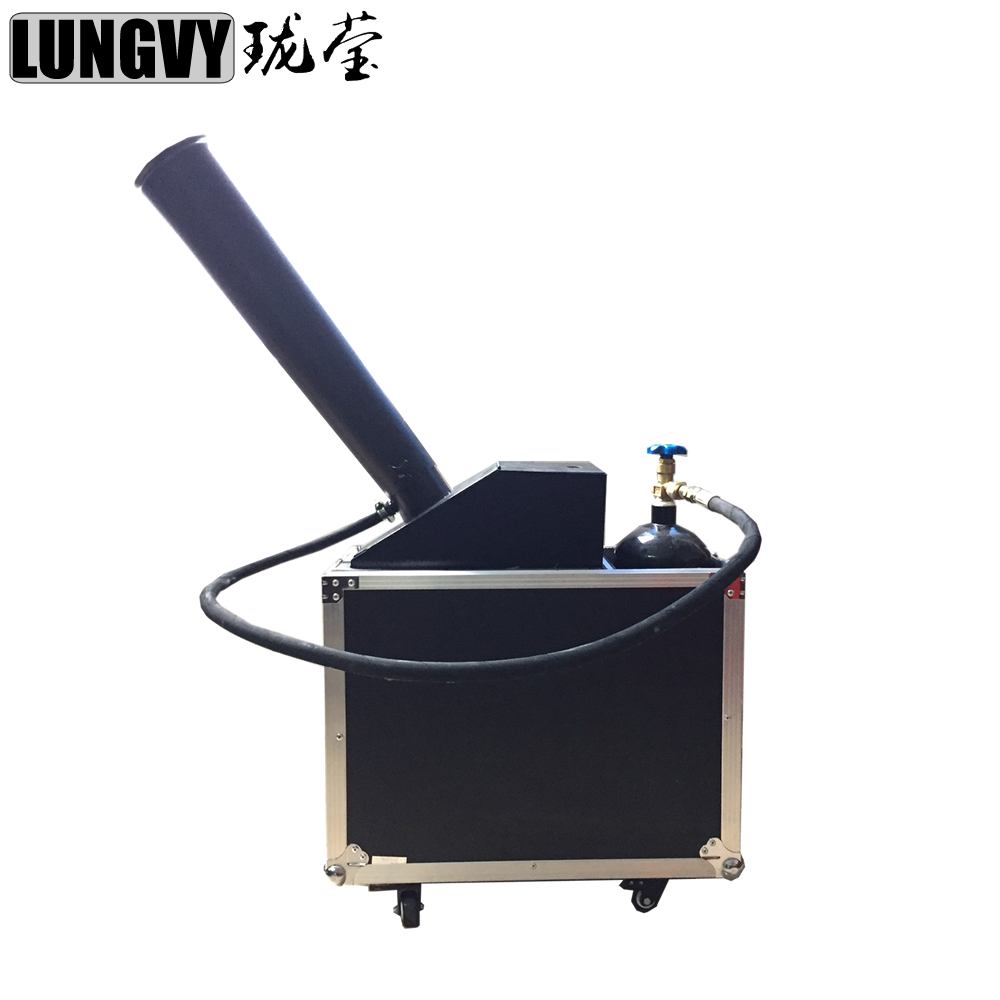 Free Shipping High Quality Cannon Launcher Wedding Confetti Machine for Party Stage Wedding Events