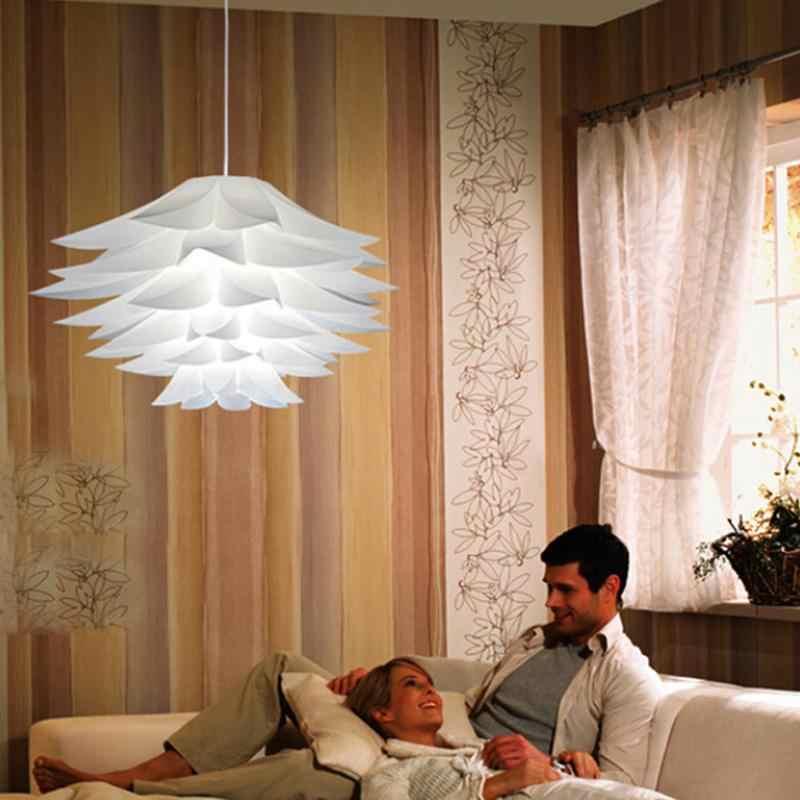 SOLLED bricolage Lotus lustre abat-jour belle décoration romantique éclairage couverture