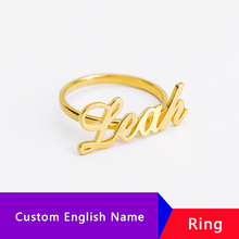 Custom Ring Name Rings Anillos Personalized For Women Bijoux Jewelry Accessories DIY Party Birthday Gifts