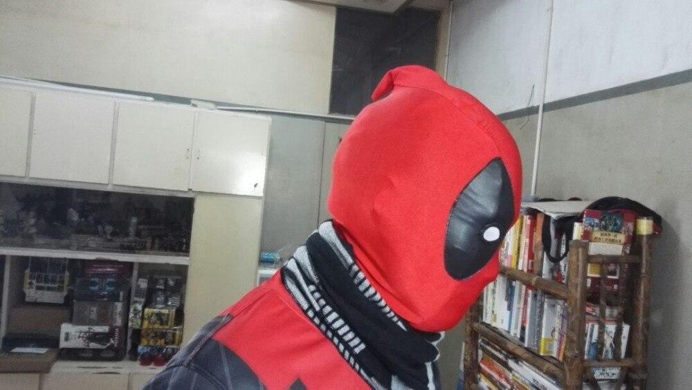Likra Süper Streç Deadpool Maske Cadılar Bayramı Cosplay Yetişkinler