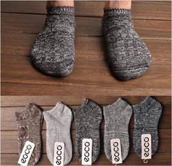 10 пар/лот мужчин Носки японский толстые линии Хлопок Вязание Мужчины Носки Harajuku ретро народном стиле зимние шерстяные носки