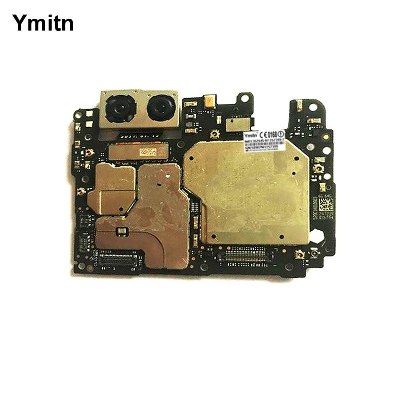Y mi tn Painel Eletrônico Desbloqueado Placa Motherboard 6 Globle Com Chips de Circuitos Flex Cable Para Xiao mi mi mi 6 6 M6 6 GB