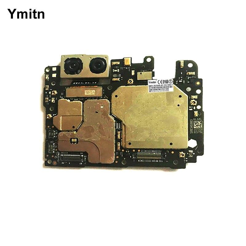 Y mi tn Painel Eletrônico Desbloqueado Placa Motherboard Desbloqueado Com Chips de Circuitos Flex Cable Para Xiao mi mi 6 mi 6 6 M6 6 GB