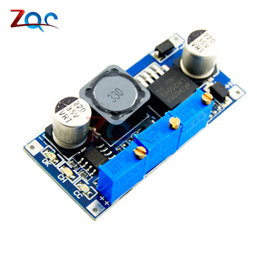 LM2596 Step Down Power Supply Module DC-DC 7V-35V To 1.25V-30V 3A Adjustable Voltage Regulator Converter LED Driver for Arduino