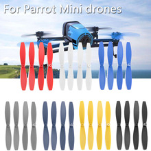 7Set 28PCS 6.2cm Propeller for Parrot Bebop 2 Blade Rotor Mini?Drone Paddle Replacement Fixed Wing Accessories