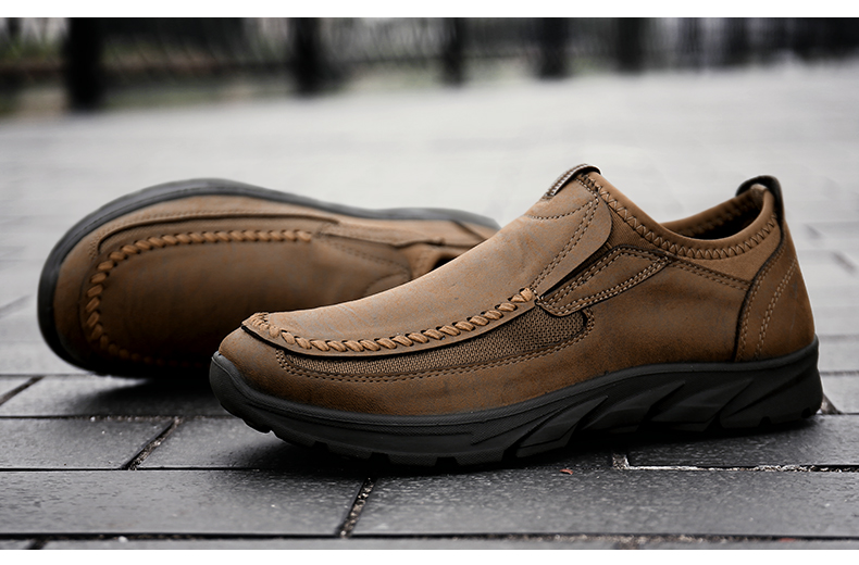 HTB1Kos0alCw3KVjSZFlq6AJkFXaK Men Casual Shoes Loafers Sneakers 2019 New Fashion Handmade Retro Leisure Loafers Shoes Zapatos Casuales Hombres Men Shoes