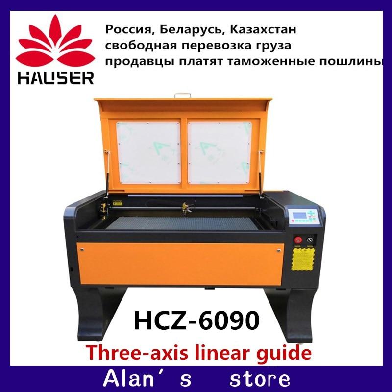 Grande machine de graveur de laser de la puissance 100 w ruida, machine industrielle de gravure de laser de la machine 6090 v/220 v de coupeur de laser de 110