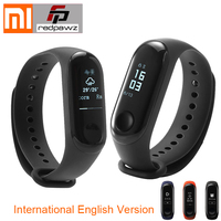 International Original Xiaomi Mi Band 3 Smart Bracelet 0.78 inch OLED Instant Message Caller ID Weather Forecate Passometer