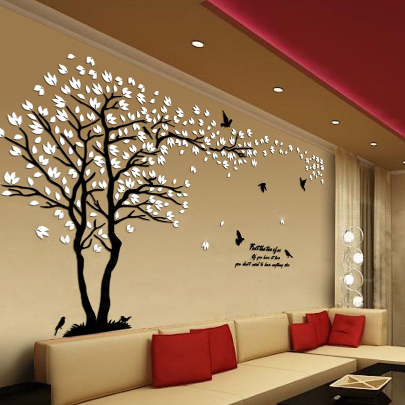 Awesome White Tree Wall Decor Inspiration - Art & Wall Decor ...