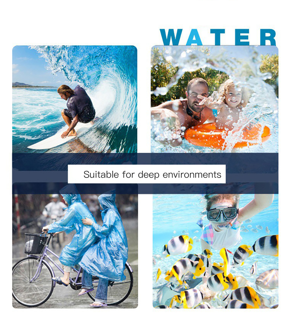 !ACCEZZ PVC Waterproof Phone Case Bag 6 inch For iPhone XR Xiaomi Huawei Samsung Swimming Outdoor Mobile Phone Pouch Cover Case (13)