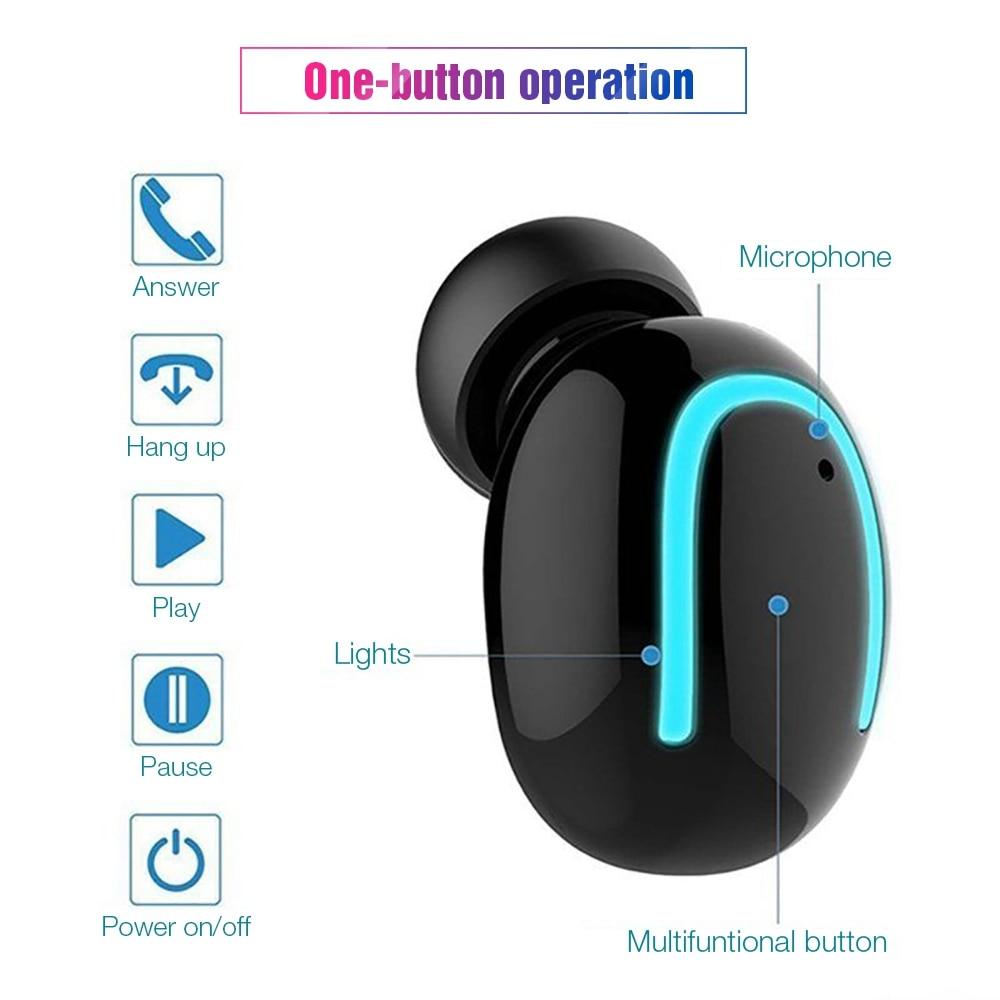 TOMKAS Wireless Headphones 5.0 Stereo Earbuds Bluetooth