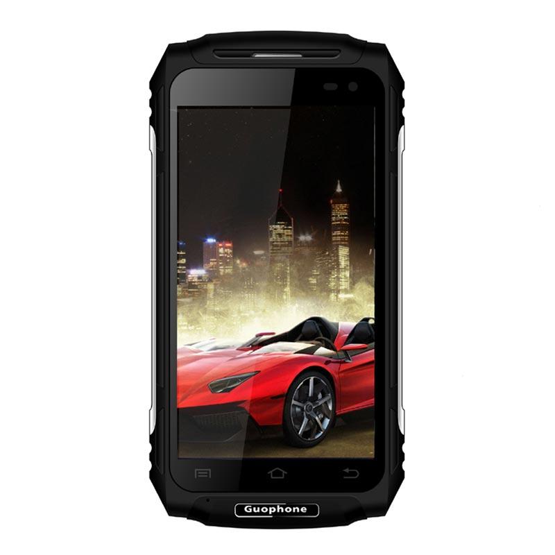 GUOPHONE X2 IP67 Impermeabile shockproof Del Telefono Mobile 5500 mah 5.0 HD MTK6737 Quad Core 2 gb + 16 gb android 6.0 8MP GPS 4g SmartPhone - 3