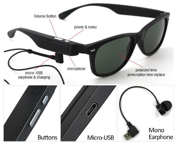 Pintar Dpt Dipakai Nirkabel Bluetooth Headset Aman Mengemudi Sunglasses  Perjalanan Kacamata Terpolarisasi Memancing Kacamata di Earphones    Headphones dari ... e88445555f
