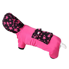 Lovely Pets Free shipping Hot Fashion New Stars Print Pullover Pet Dog Jumpsuit Coat Apparel Clothes Jun8