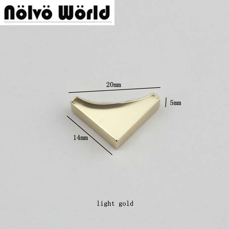 50pcs high quality decoration end clips by screws light gold color hardware straps tail clasp accessory Metal Clip niko 50pcs chrome single coil pickup screws