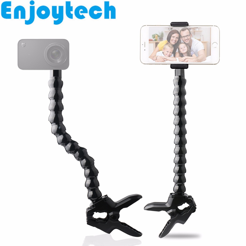 New Arrival Flexible Octopus Monopod with 1/4inch Screw Adaptor for Gopro Hero SJcam Cameras Selfie Stick with Holder for Phones