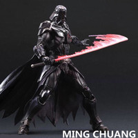 Star Wars Play Arts Black Warrior Darth Vader Jedi Knight PVC Action Figure Collectible Model Toy