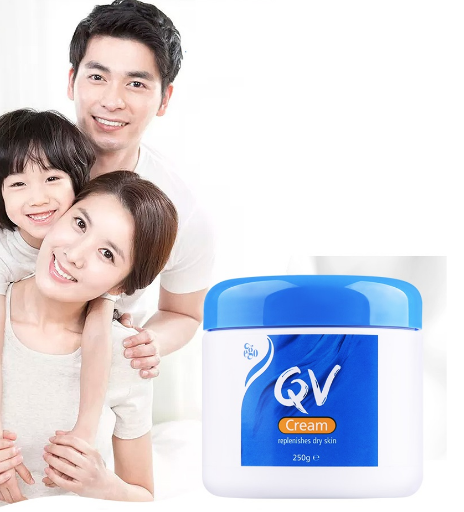 Australia QV Moisturizing Cream Hand Neck Body Lotions for Long Lasting Relieve Dryness Scaly Skin Eczema Psoriasis Dermatitis image
