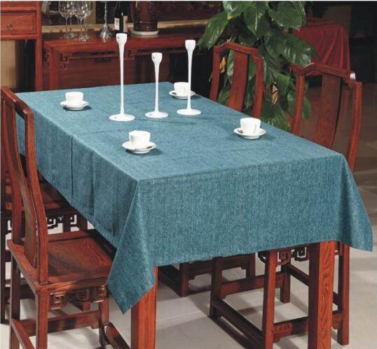 Home hotel café à prova d' água pano pastoral toalhas de mesa mesa de café de pano mesa de jantar pano