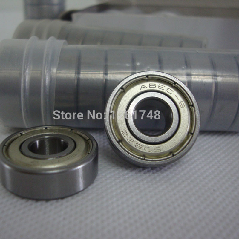 10PCS 608ZZ  ABEC-9 Bearing 8*22*7mm Steel Bearing For Inline Roller Skates,Scooter, Skateboard Accessories