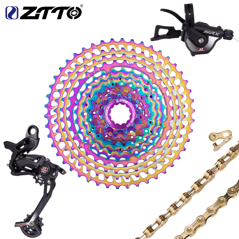 ZTTO SLR2 11 Speed SRX Groupset Derailleur Shifter Crankset Chain 11 52T Cassette 11 50T Ultralight