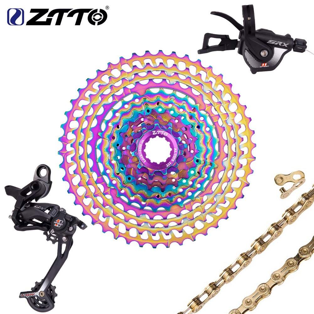 ZTTO SLR2 11 vitesses SRX groupe dérailleur manette de vitesse pédalier chaîne 11-52 T Cassette 11-50 T groupe ultraléger ensemble VS M8000 M7000