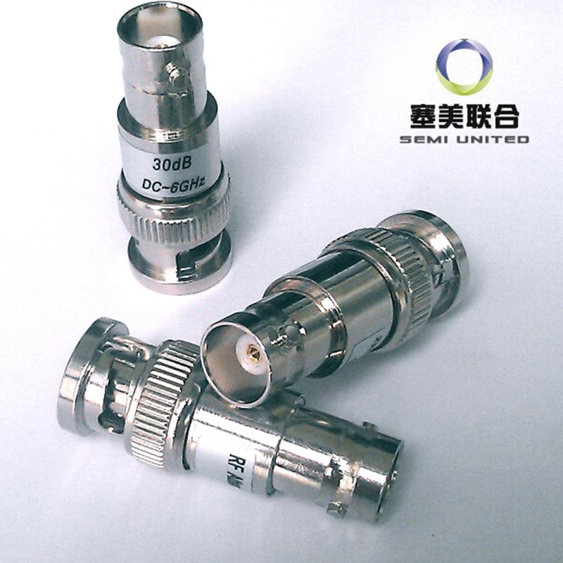 2W BNC-J.K   Coaxial RF Attenuator  DC 6.0GHz ,1-30db,50 Ohm,Free Shipping le cabaret купальник от le cabaret 101904