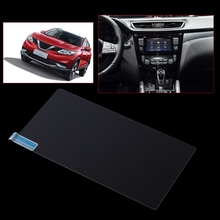 Car Navigation Tempered Glass Screen Protector For Nissan Qashqai J11 X-trail
