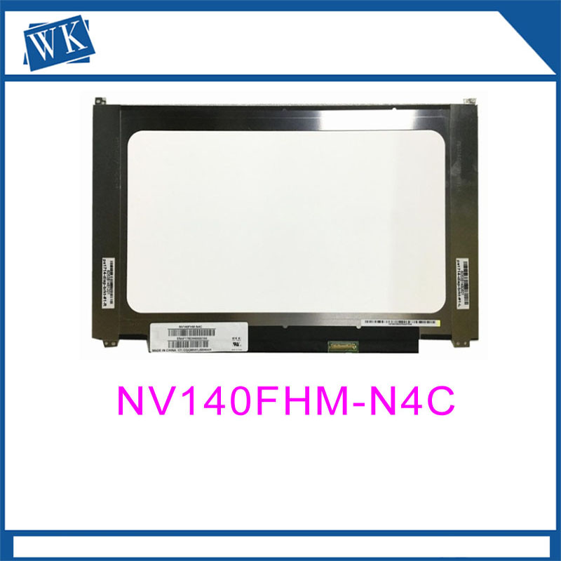 Free shipping NV140FHM-N4C NV140FHM N4C NV140FHM-N47 Laptop LCD LED Screen 1920*1080 30 PIN IPSFree shipping NV140FHM-N4C NV140FHM N4C NV140FHM-N47 Laptop LCD LED Screen 1920*1080 30 PIN IPS