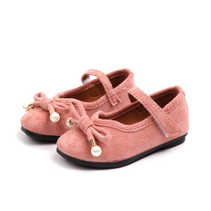 Koralik łuk buty szkolne dziewczyny księżniczka buty mała dziewczynka sukienka na imprezę buty dla małych ślubne dla dzieci but skórzany 1 2 3 4 5 6 lat
