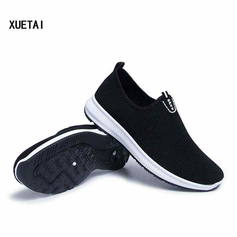 Men Mesh Casual Shoes Male Fashion Antiskid Sport Shoes Man Breathable Runing Shoe Student Sneakers #58 Spring 2019