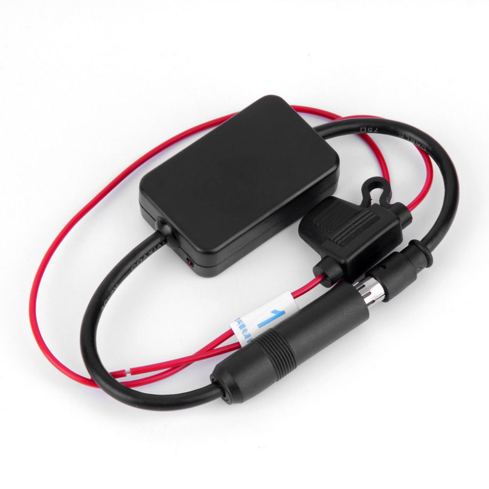 Universal Auto Auto Radio FM Antenne Signal Booster Amp Verstärker ...
