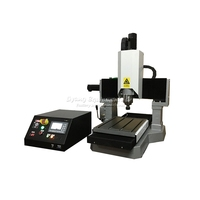 DIY mini cnc router LY 3040 full cast iron engraving machine for metal 3/4 axis cutting drilling 1.5 / 2.2 /3.5KW