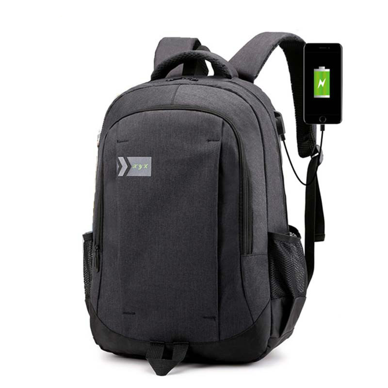 Fashion Man Laptop backpack usb charging Computer Backpacks Casual Backpack Large Capacity Male Business Travel bag