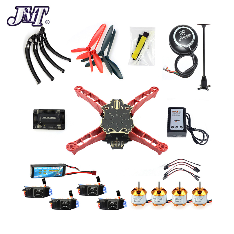 JMT RC Drone Quadrocopter 4-axis Aircraft Kit Q330 Across Frame 6M GPS APM 2.8 Flight Control No TransmitterJMT RC Drone Quadrocopter 4-axis Aircraft Kit Q330 Across Frame 6M GPS APM 2.8 Flight Control No Transmitter