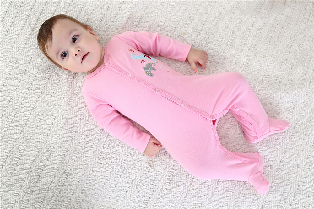 Baby Layette Jumpsuit Baby Onesies Baby Girls Boys Infant Baby Clothes Footies