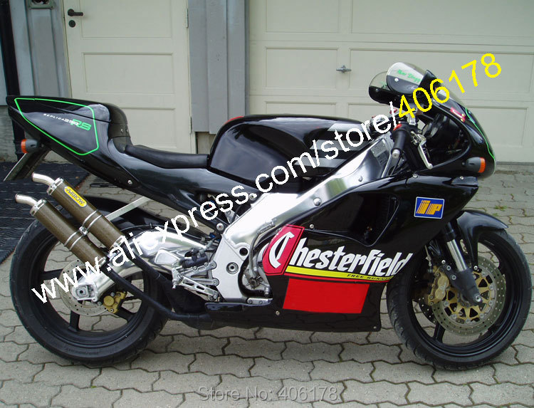 hot sales black fairing kit for aprilia rs250 parts 1995. Black Bedroom Furniture Sets. Home Design Ideas