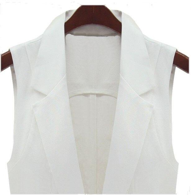 Gilet Moyen Femmes Veste Black Sans Blanc Manches Vêtements Printemps Travail white Costume Conception Classique Noir Long Red De yellow rose 5IwxRA6q