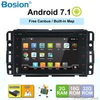 7 Android 7,1 4 ядра Радио DVD плеер автомобиля Руль gps для Chevrolet Tahoe траверс BUICK Enclave GMC Юкон Тахо Acadia